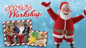 Promotional picture for Santa's Workshop at Holst Acres