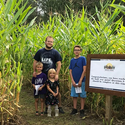Corn Maze and Haunted Hollows